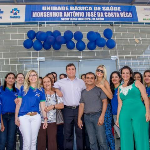 Inauguração da UBS Massagueira