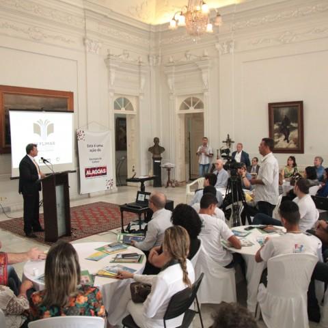 Prefeito Cristiano Matheus participou do lançamento da Flimar